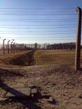 Концентрационный лагерь Освенцим Стоковые Изображения RF
