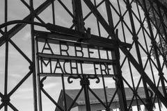 Концентрационный лагерь Dachau нацистский - Германия Стоковая Фотография RF