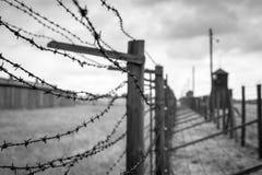 Концентрационный лагерь Majdanek в Люблине, Польше Стоковая Фотография