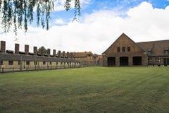 Концентрационный лагерь Oswiecim - Освенцим, Польша Стоковая Фотография