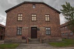 Концентрационный лагерь Oswiecim - Освенцим, Польша Стоковые Изображения RF
