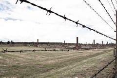 Концентрационный лагерь Oswiecim - Birkenau, Польша Стоковое фото RF