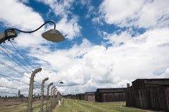 Концентрационный лагерь Oswiecim - Birkenau, Польша Стоковое Изображение RF