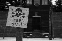 Концентрационный лагерь в Освенциме Стоковое Изображение RF