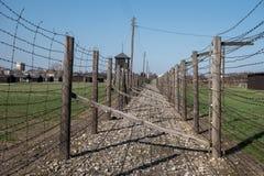 Концентрационный лагерь Majdanek Концентрационный лагерь Второй Мировой Войны нацистский немецкий в Люблине Польше Стоковое Фото
