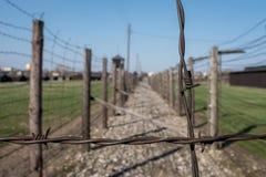 Концентрационный лагерь Majdanek Концентрационный лагерь Второй Мировой Войны нацистский немецкий в Люблине Польше Стоковые Изображения RF
