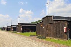 Концентрационный лагерь Majdanek на окраинах Люблина Стоковое Изображение