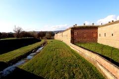 Концентрационный лагерь Theresienstadt Крепость стоковое изображение