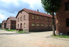 концентрация лагеря birkenau auschwitz Стоковые Изображения