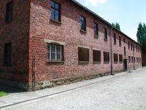 концентрация лагеря birkenau auschwitz Стоковое Изображение