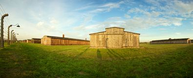 концентрация лагеря birkenau auschwitz Стоковые Изображения RF
