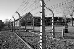 концентрация Польша лагеря Стоковые Изображения RF