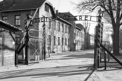 концентрация Польша лагеря Стоковые Изображения