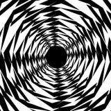Концентрические геометрические шестиугольники/восьмиугольники Абстрактное PA monochrome Стоковые Изображения RF