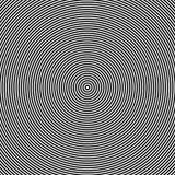 Концентрические круги, концентрические кольца резюмируют геометрическую картину бесплатная иллюстрация