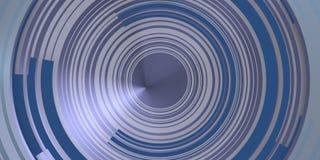 Концентрические круги над ярким изумрудом Стоковое Изображение RF