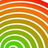 Концентрический, излучающ круги, кольца Радиальный абстрактный элемент Стоковые Изображения RF