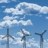 Концепции выхода по энергии стоковая фотография rf