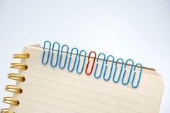 Концепции на бумажных щелчках любят работники и руководители Стоковое Фото