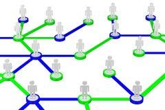 Концепции: Социальная сеть стоковое фото