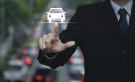 Концепция автомобиля обслуживания предприятий Стоковое Изображение
