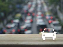 Концепция автомобиля такси обслуживания предприятий Стоковое Изображение RF