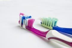Концепция дантиста здоровья гигиены затира зубной щетки зубоврачебная Стоковое Изображение RF