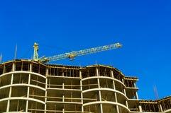 концепция архитектора строительной площадки Стоковая Фотография