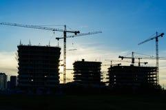концепция архитектора строительной площадки Стоковое Изображение