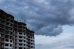 концепция архитектора строительной площадки Стоковые Изображения RF
