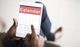 Концепция даты встречи назначения календаря стоковые фото