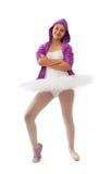 Концепция балерины, классических и современных балета Стоковое Изображение