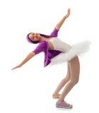 Концепция балерины, классических и современных балета Стоковые Изображения