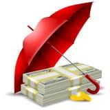 концепция безопасности денег бесплатная иллюстрация