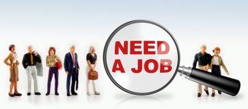 концепция безработного и работника Стоковые Изображения