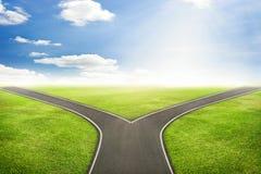 Концепция бизнесмена, дорога к правильному пути стоковое фото rf