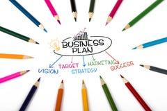 Концепция бизнес-плана Стоковая Фотография RF