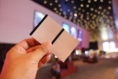 Концепция билета резервирования Стоковое Фото