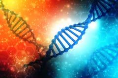 Концепция биохимии с структурой дна в медицинской предпосылке технологии иллюстрация вектора