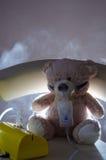 Концепция болезни зимы Стоковая Фотография RF