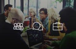 Концепция бренда знака средств массовой информации логотипа цифров идей идеи значка стоковая фотография rf