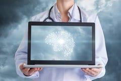 Концепция будущее перспективы современной медицины стоковые фото