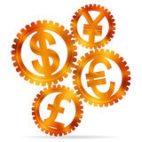 Концепция валюты Стоковое фото RF