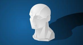 Концепция вектора дизайна иллюстрации значка человека модельная Стоковые Изображения RF