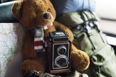 Концепция взгляда фотоснимка фото рамки фокуса фильма камеры Стоковые Изображения