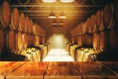 Концепция винодельни и спирта иллюстрация штока