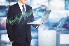 Концепция вклада и финансов Стоковое Изображение