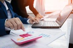 Концепция вклада стратегии бизнеса Стоковая Фотография RF
