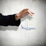 Концепция воздушных судн Стоковые Фото