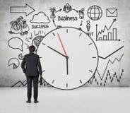 Концепция времени дела Стоковое Изображение
